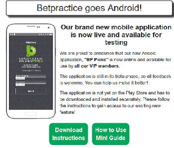 Betpractice android my picks