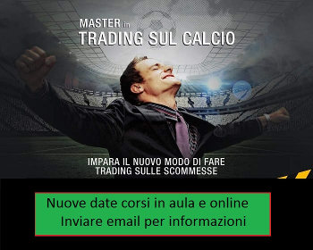 Corso betting exchange calcio