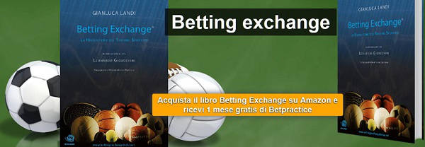 acquista libro betting exchange ricevi 1 mese gratis betpractice