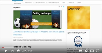 video betting exchange bancare opposto con betpractice